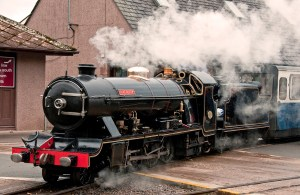 River Esk Locomotive in Steam