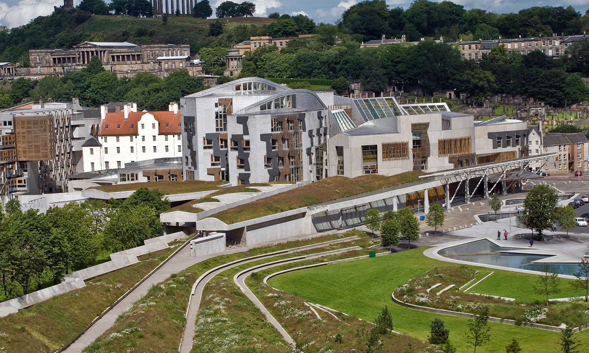 Scottish Parliament Buildings, Edinburgh