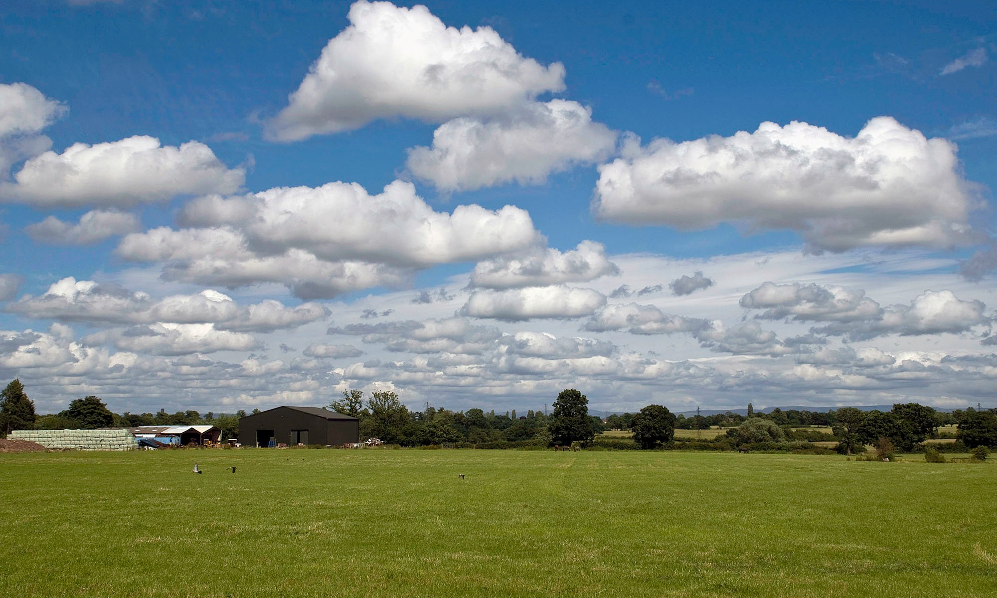 Countryside South of Hale, Cheshire