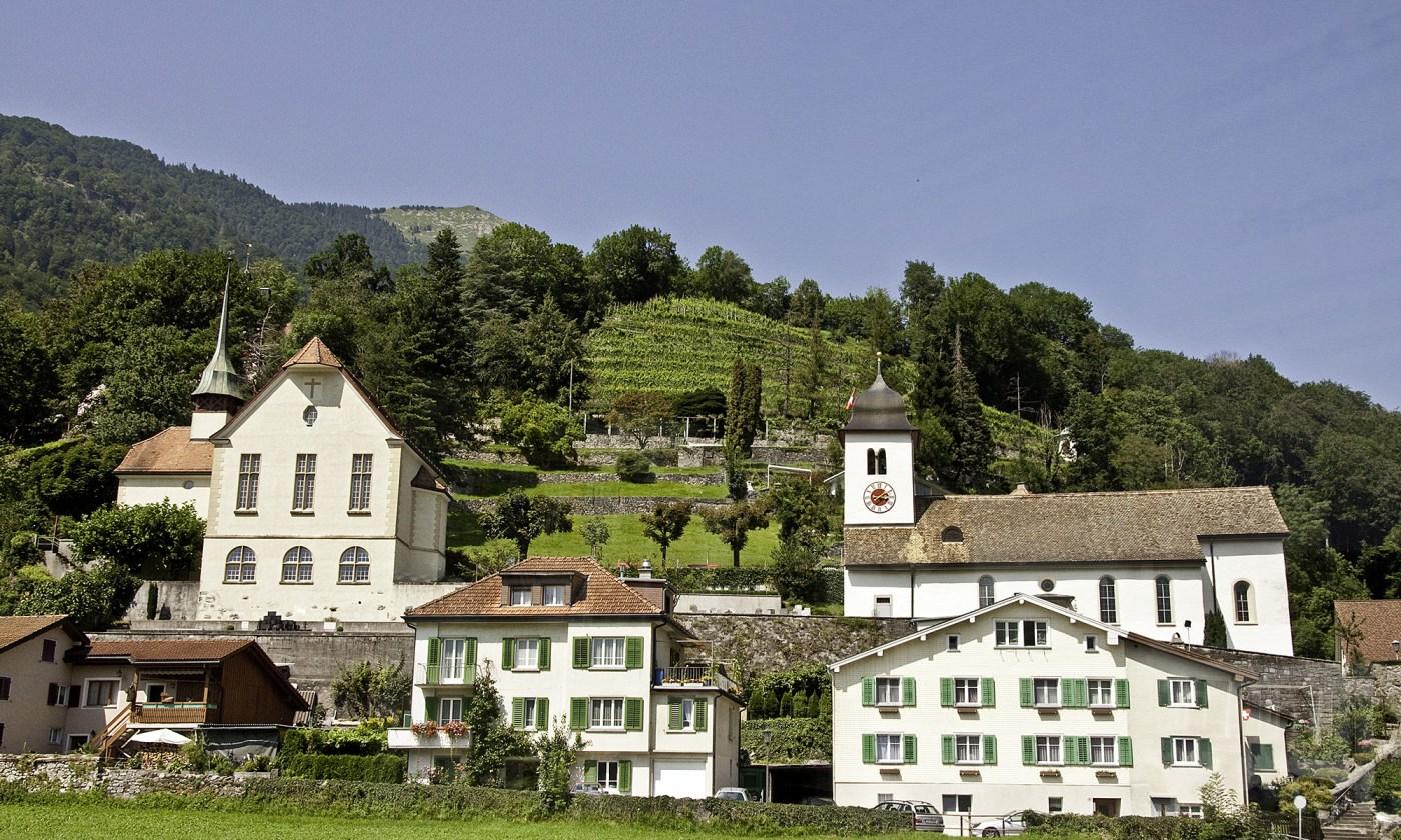Swiss Architecture in Amden