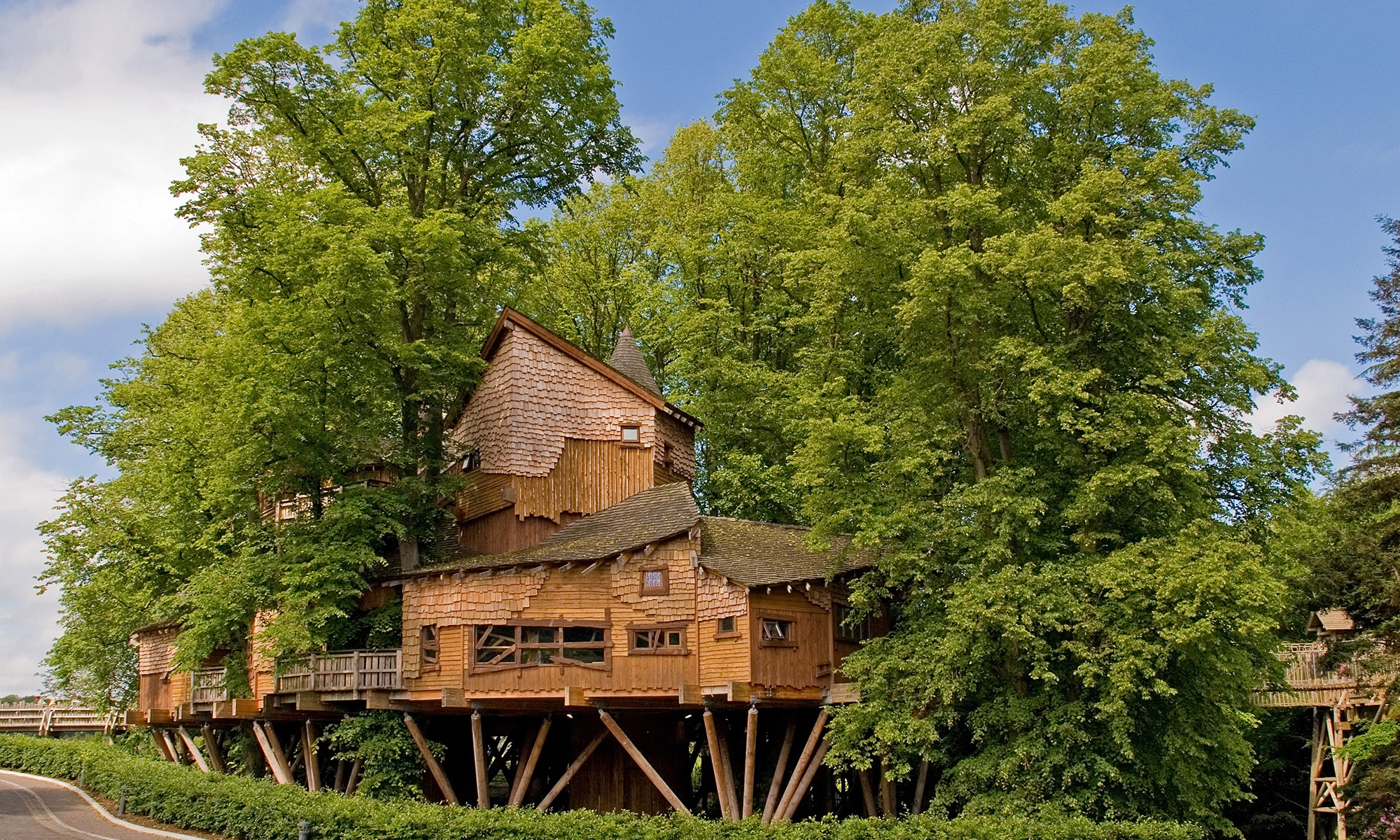 Treehouse at Alnwick Garden