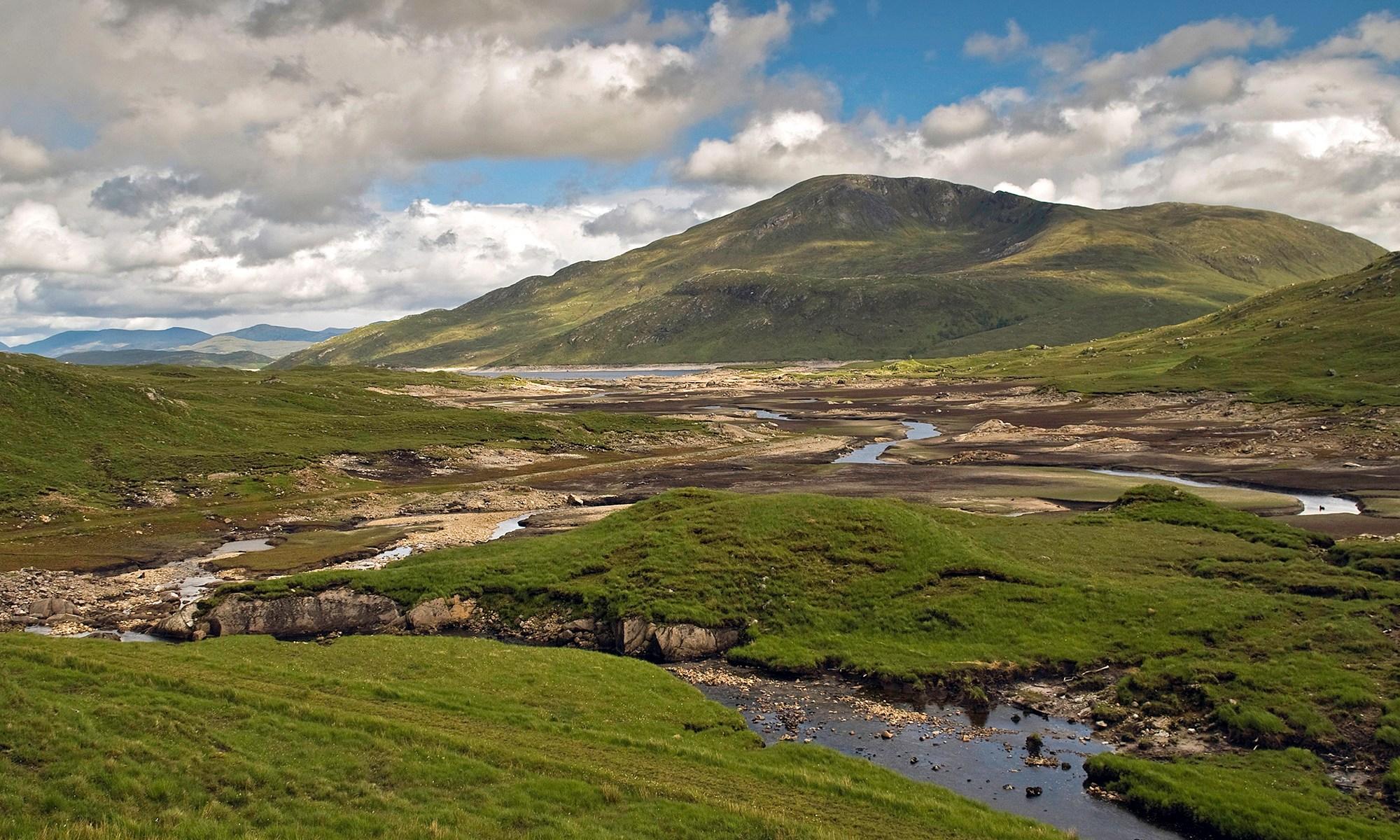 Typical Scottish Highland Landscape