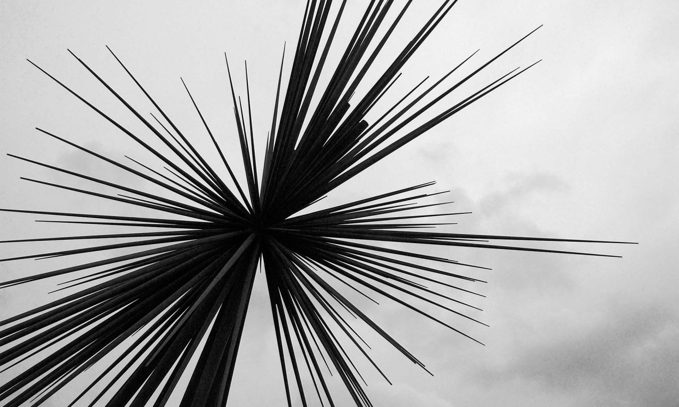 B of the Bang Sculpture, Manchester