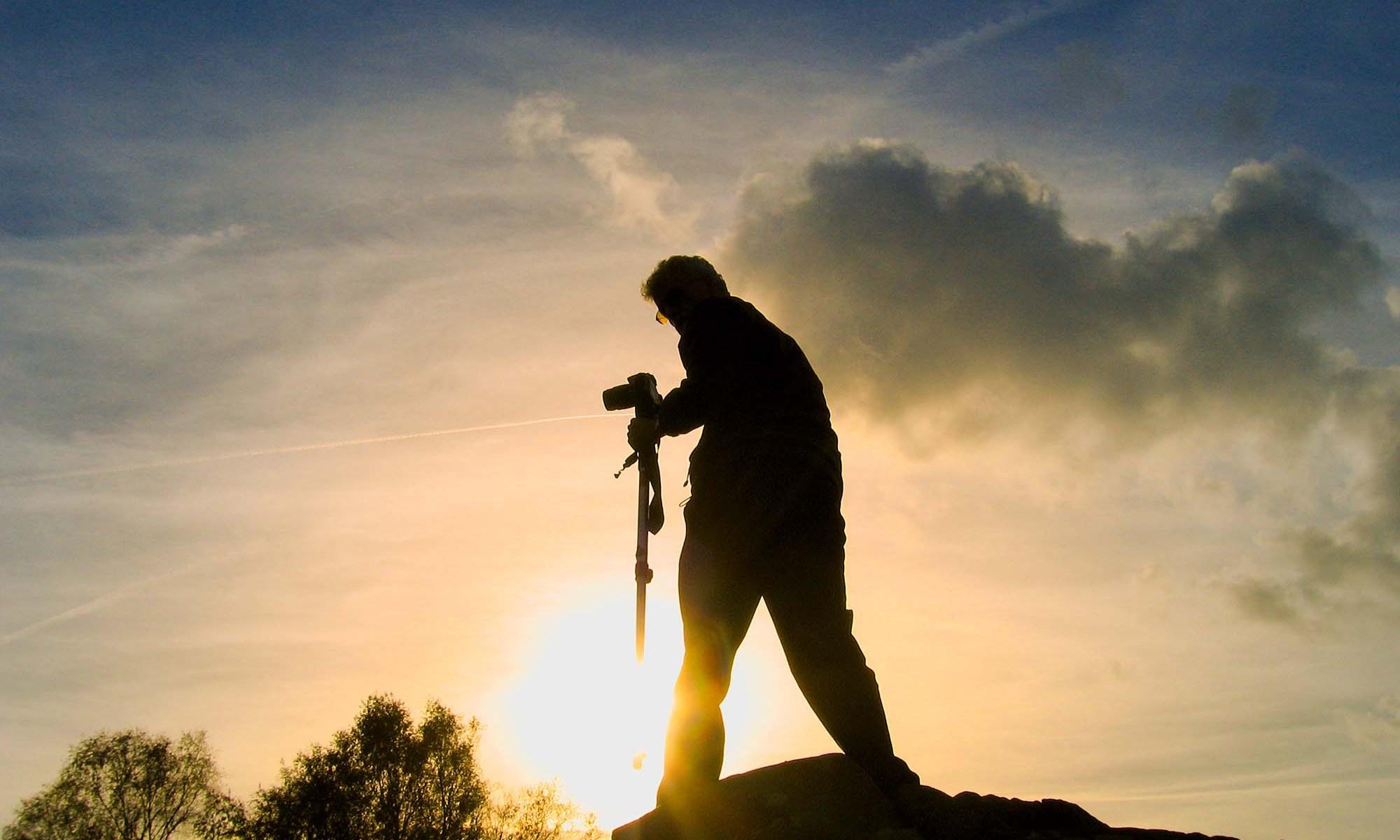 The Photographer's Sunset
