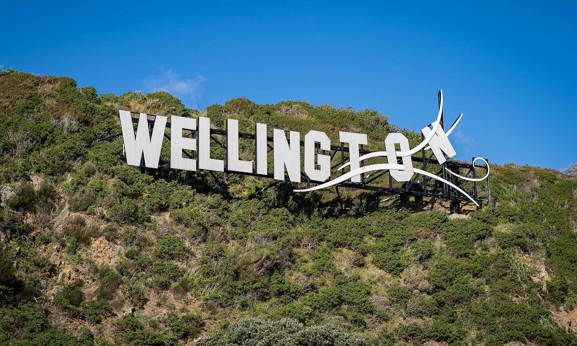 Windy Wellington sign