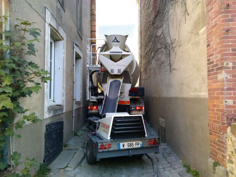 encombrement d un camion toupie
