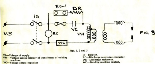 small resolution of 3 how the circuit of an existing welding machine can be rearranged to apply a series capacitor