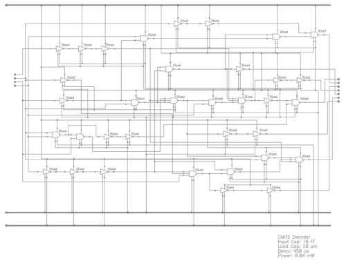 small resolution of 11 decoder from bcd to 7 segment schematic