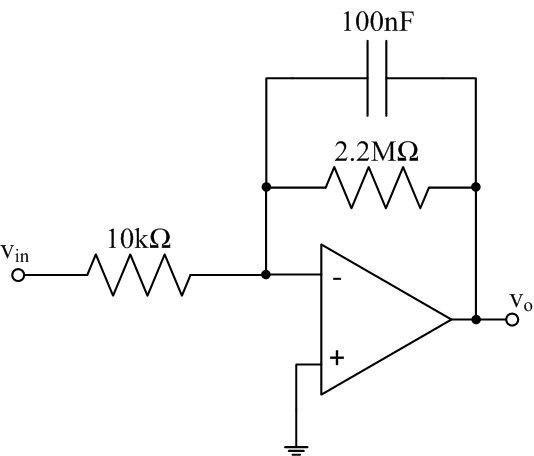 EE 212L: Op-Amp Differentiators and Integrators