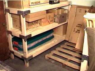 storage shelves heavy duty basement storage
