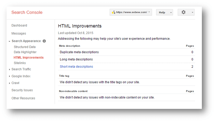 Google WMT Tips and Tricks to Improve Search Presence