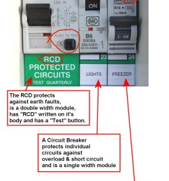 to identify the rcd and circuit breakers look for the clues the rcbo is [ 800 x 1249 Pixel ]