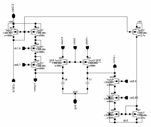 A CMOS 0.18um APS Array