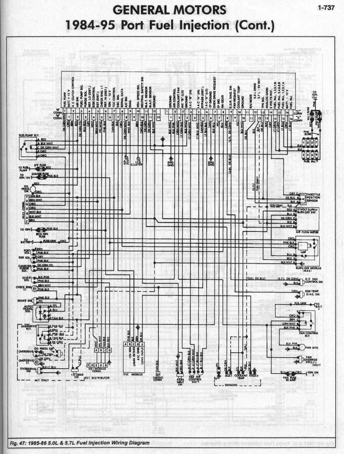 1991 Chevy Kodiak Wiring Diagram My 85 Z28 And Eprom Project
