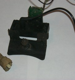 knock sensor plug connector and 91 map sensor w wires vac tube pulled from junk yard [ 1536 x 1024 Pixel ]