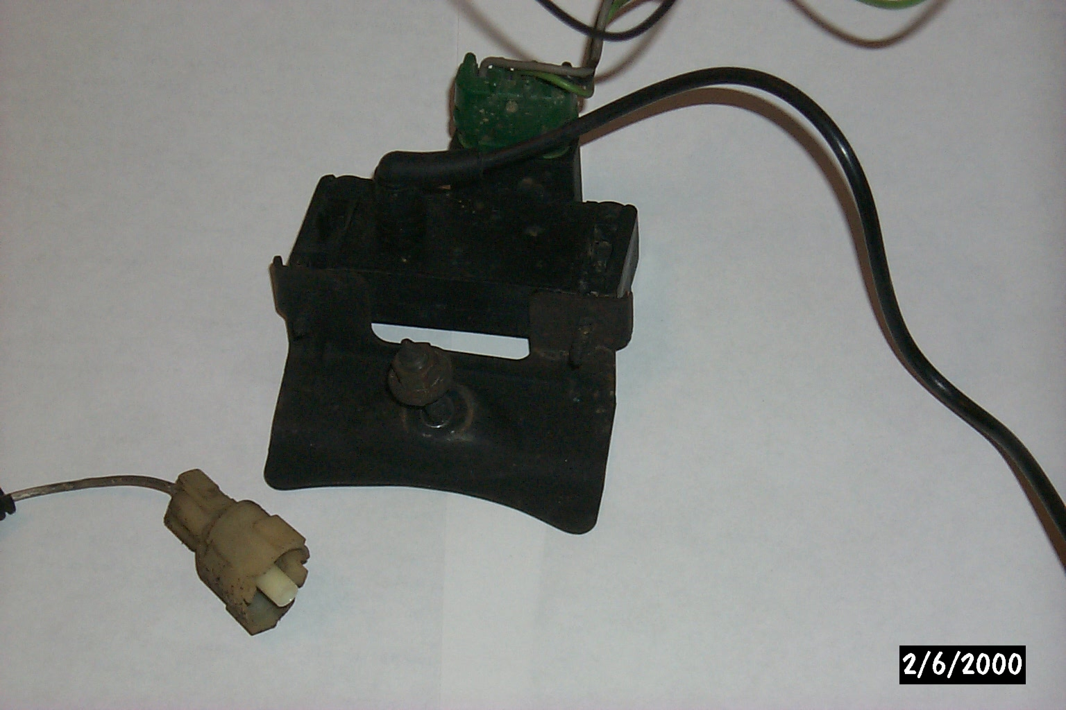 hight resolution of knock sensor plug connector and 91 map sensor w wires vac tube pulled from junk yard