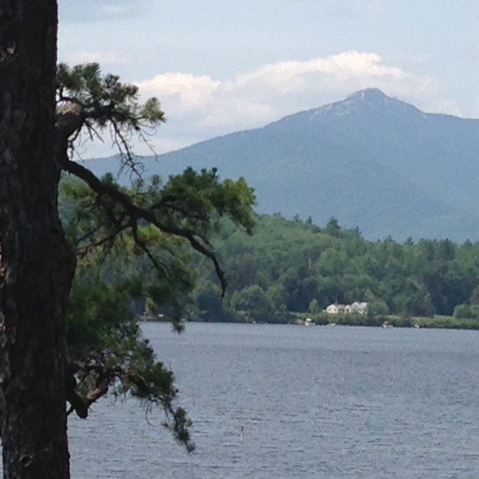 Figure 2: view of Mount Chocorua from Abenaki