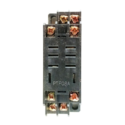 8 Pin 24vdc Industrial Relay With Base Omron
