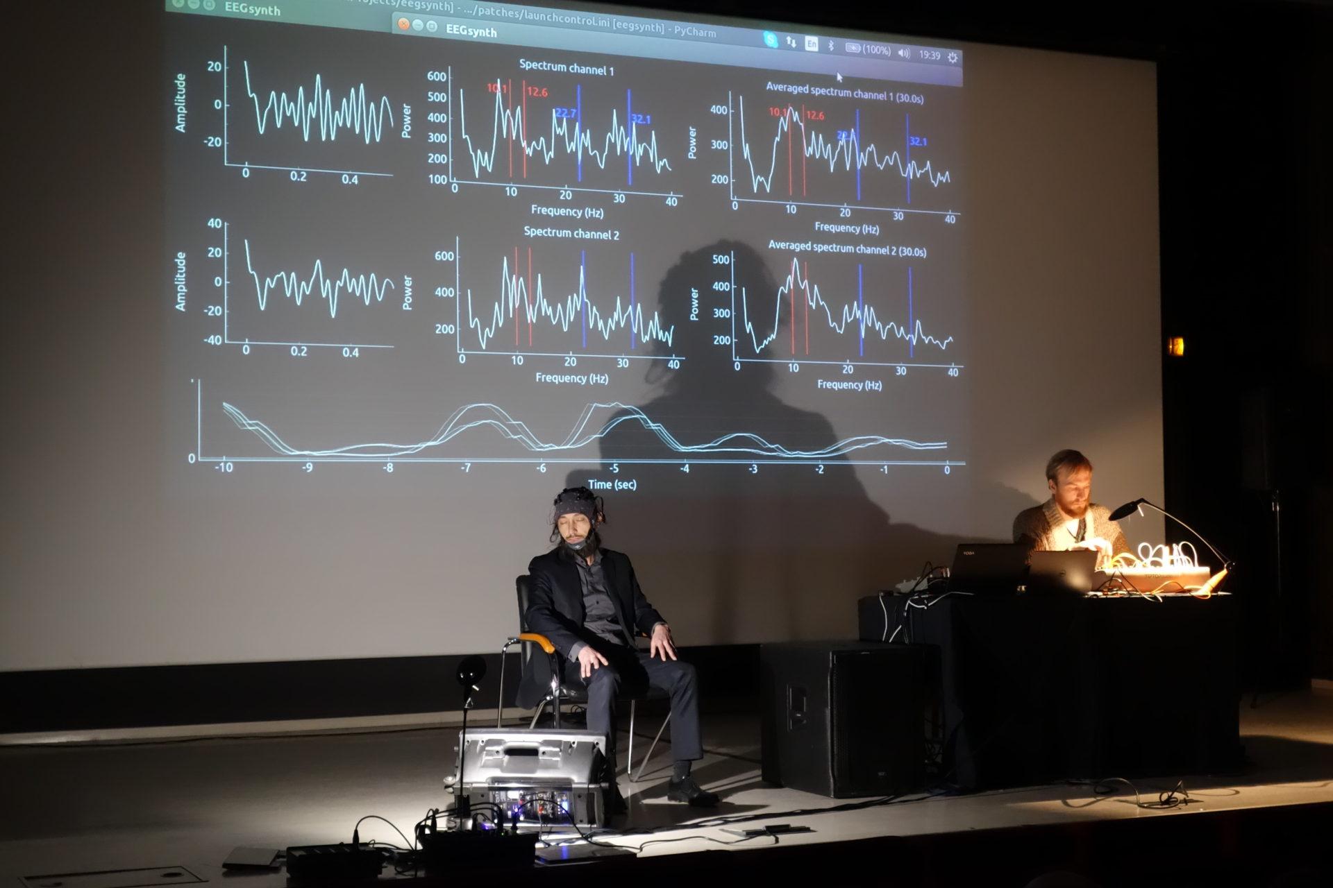 Musique du cerveau at l'Ecole normale supérieure | The EEGsynth