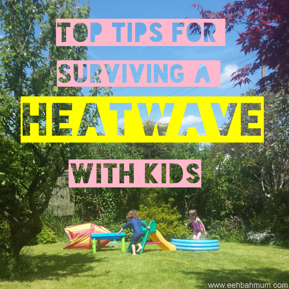Surviving a heatwave with small children