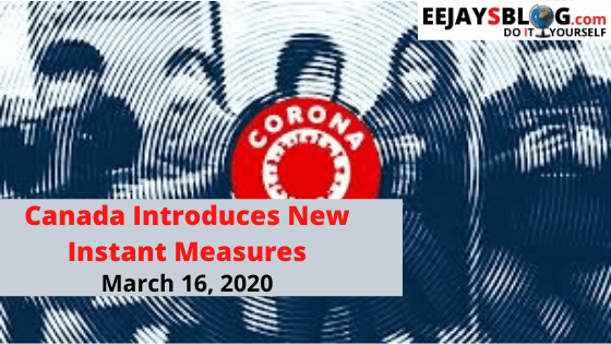 Coronavirus - Canada presents new restrictions