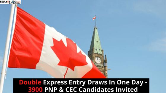 Canada express entry draws