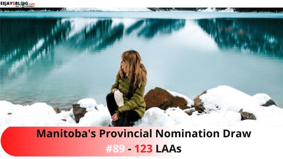 Manitoba Provincial Nomination