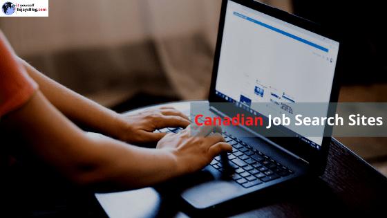 Canadian job search websites