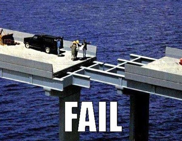 Build fails