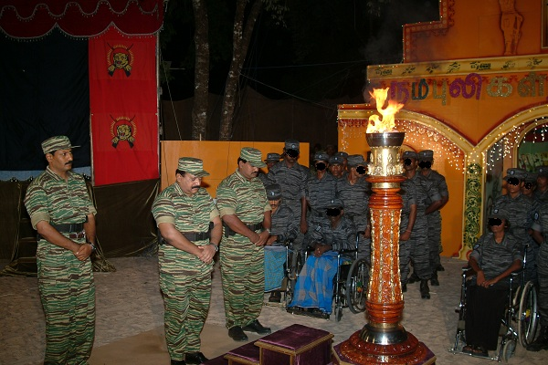 LTTE leader V. Pirapaharan commemorating  Black Tigers 3