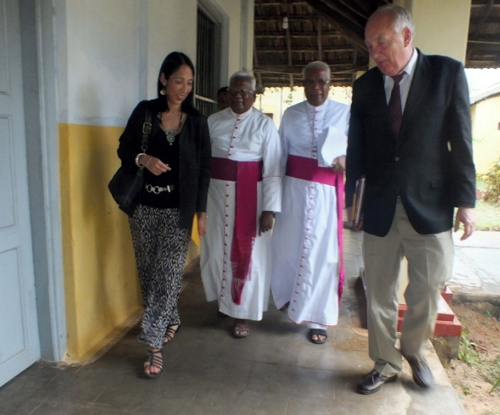 Stephen Rapp was briefed on structural genocide at Bishop's House in Jaffna