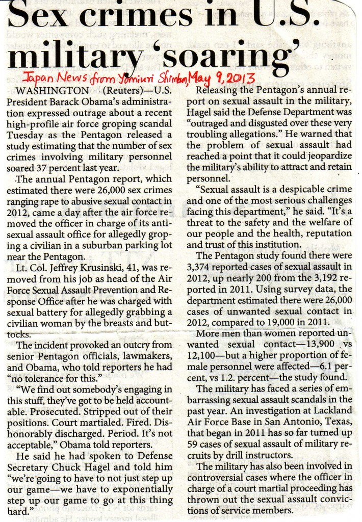 Sex-crimes-in-US-military-soaring-May-9-2013