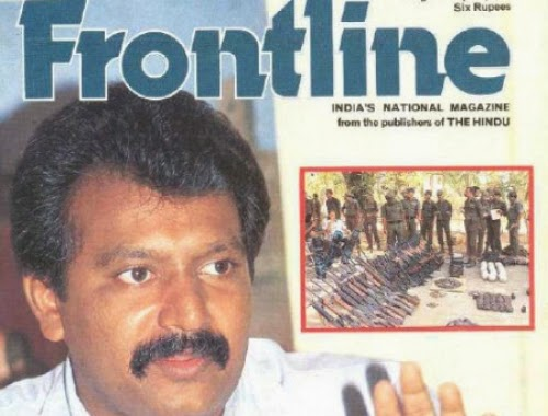 frontline interview prabakaran