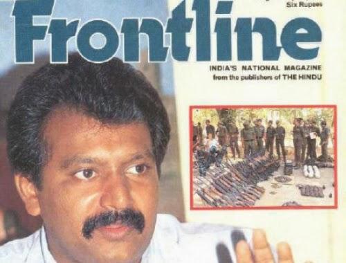 frontline interview prabakaran
