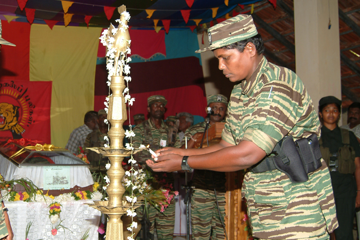 Poorani, Head of LTTE Naval wing's women division