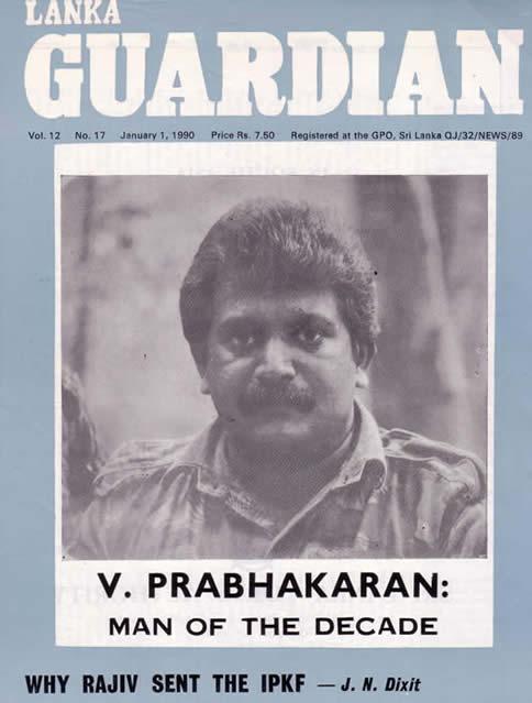 Prabhakaran Life History In Ebook