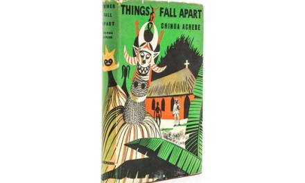 "First edition of Chinua Achebe's ""Things Fall Apart"" sells for N1million"