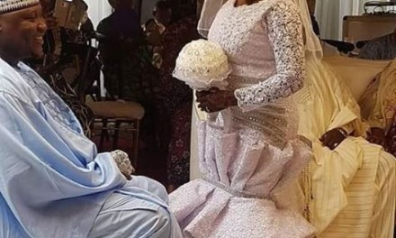 Popular Actress, Tawa Ajisefini Gets Married
