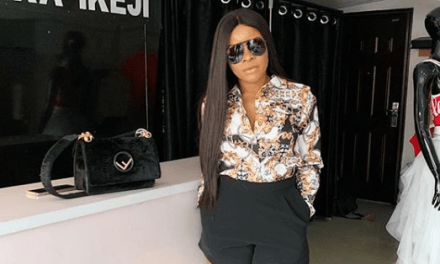 Laura Ikeji Speaks Out On Relationship With Amara Kanu