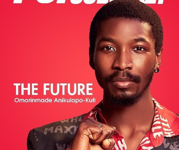 Omorinmade Anikulapo-Kuti dazzles on the cover of Pop Culture!