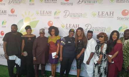 "Femi Adebayo and Leah Foundation Premiere New Movie ""Diamonds In The Sky"""