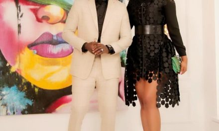 """Date Night: See Ayo """"AY"""" Makun's Reaction To His Wife's Outfit"""
