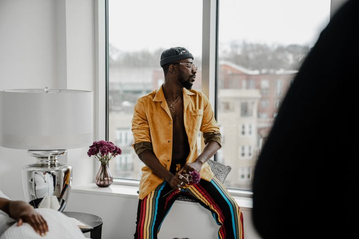 Photos: See B.T.S Shots From Adekunle Gold's New Video