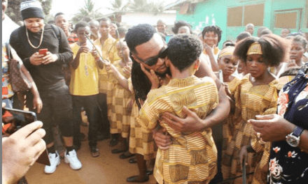 Flavour Opens School for the Blind in Honour of Semah