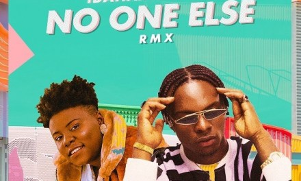 "New Music: Idahams ft Teni- ""No One Else (Remix)"""