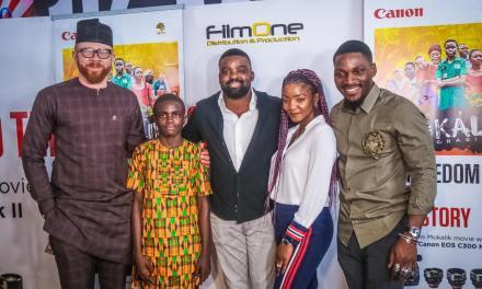 Canon Hosts Private Press Screening of Kunle Afolayan's 'MOKALIK'