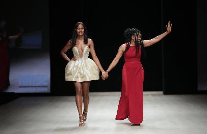 Deola Sagoe Dazzles the Runway on Day 3 of Arise Fashion Week 2019