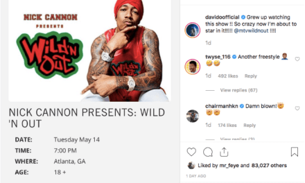 "Davido Set to Appear on Nick Cannon's ""Wild 'N Out"""