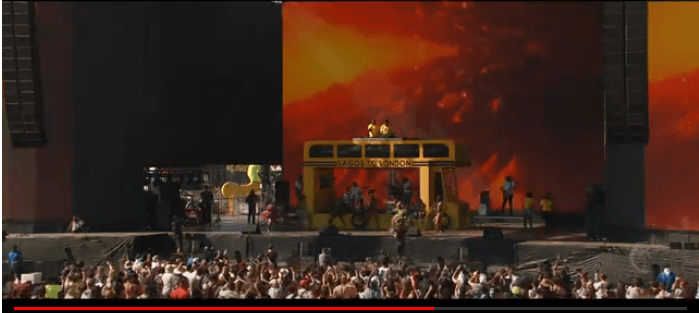 Watch Mr Eazi's Performance at Coachella