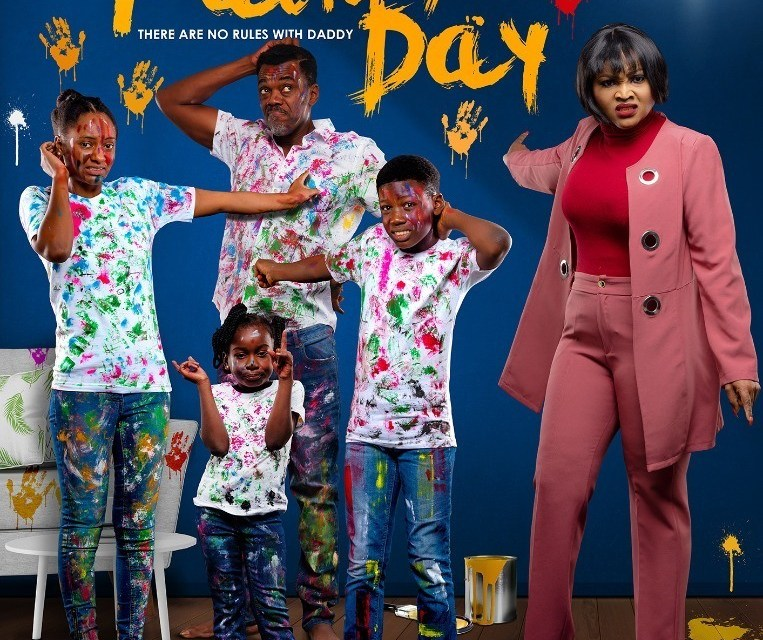 """Ex-BBNaija Cee-C features in debut movie """"Another Father's Day"""""""